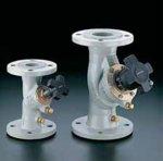 Kosi prirubnički regulacioni ventili od sivog liva DN20 do DN300 sa priključcima za merenje i balasiranje