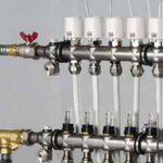 Niklovani razdelnici i sabirnici sa protokomerima (2-12 krugova), Elektrotermalni pogoni - akutatori