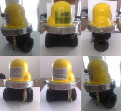 Seizmički blokadni ventil.